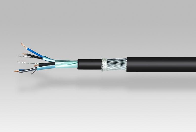 Cable Apantallado y armado  VOVMV 300/500 V – 06/1 KV
